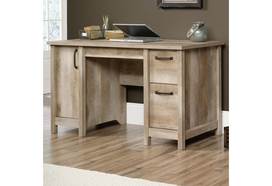 418326 Rustic Finish Computer Desk