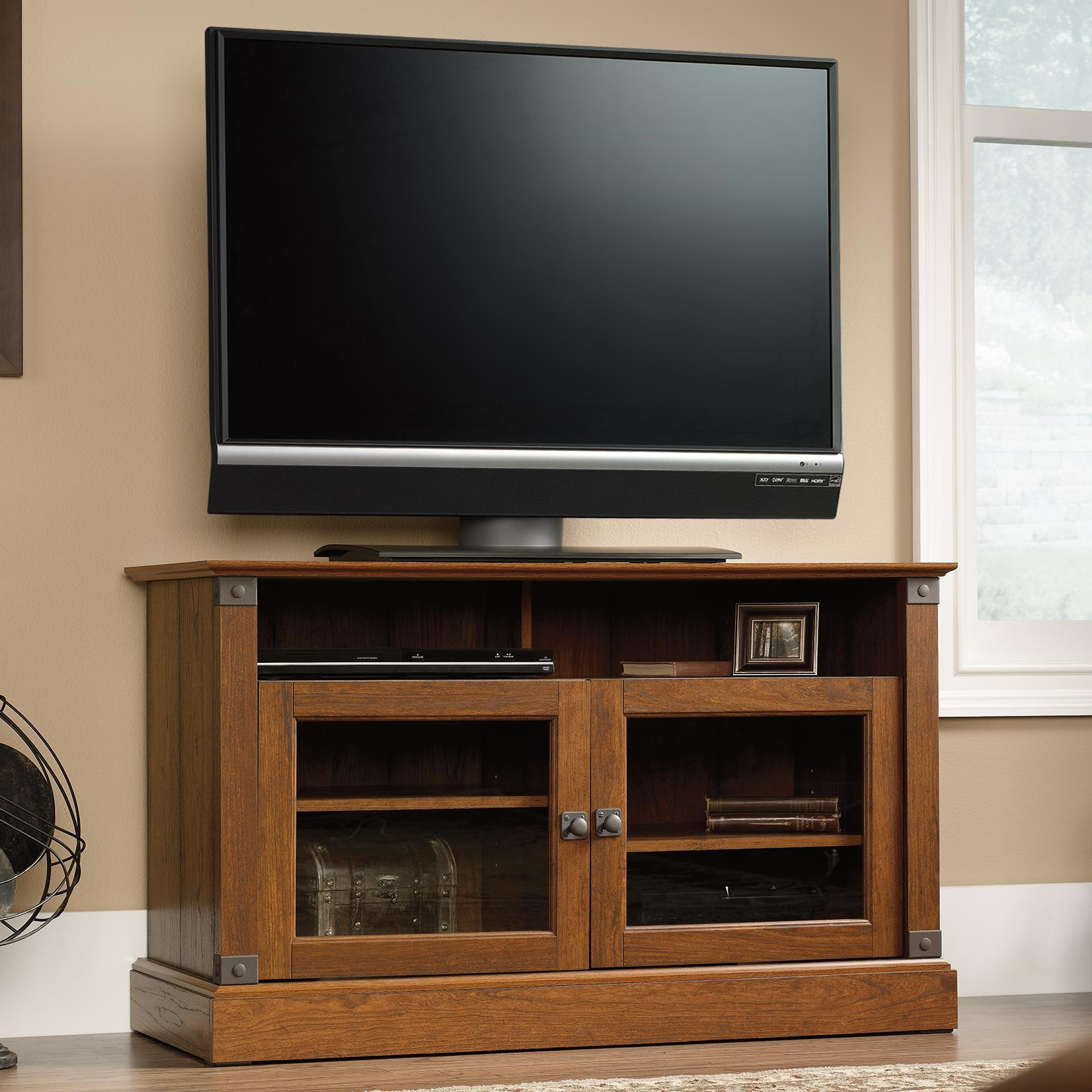 Sauder Carson ForgePanel TV Stand ...