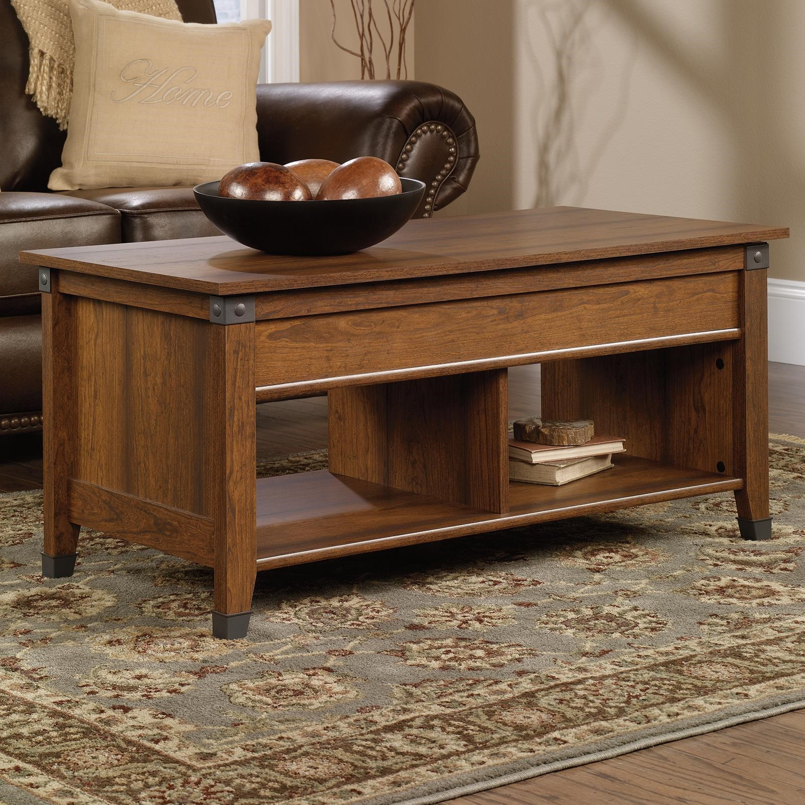 Sauder Carson ForgeLift Top Coffee Table ...
