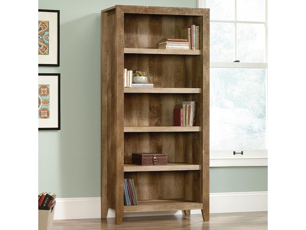 Sauder Dakota Pass5-Shelf Bookcase