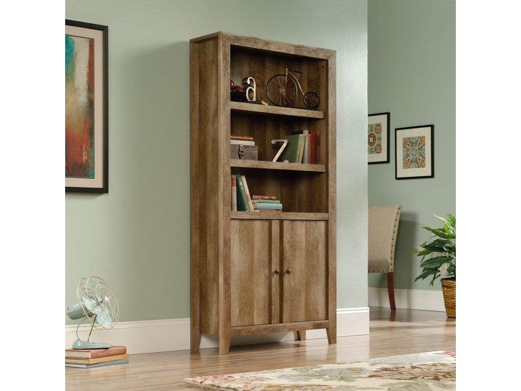 Sauder Dakota PassLibrary with Doors