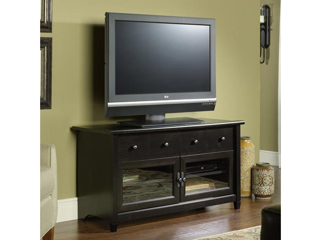 Sauder Edge WaterPanel TV Stand