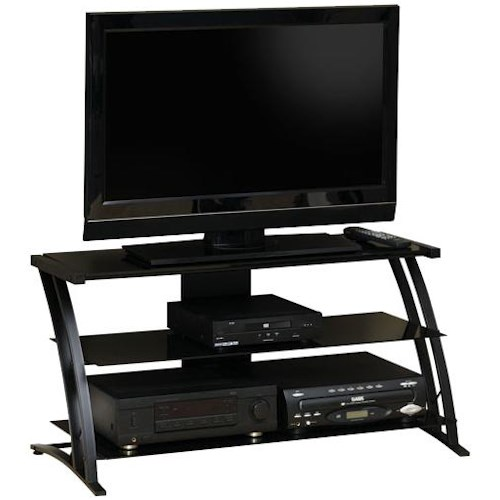 contemporary panel tv stand sauder entertainment units 42 - Corner Flat Panel Tv Stands
