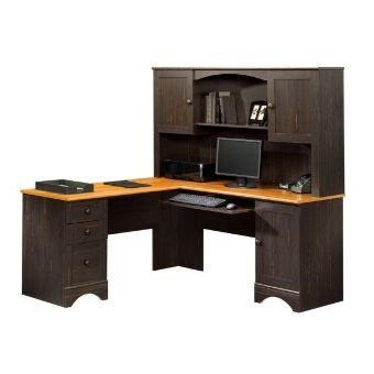 Delicieux Sauder Harbor ViewCorner Computer Desk And Hutch