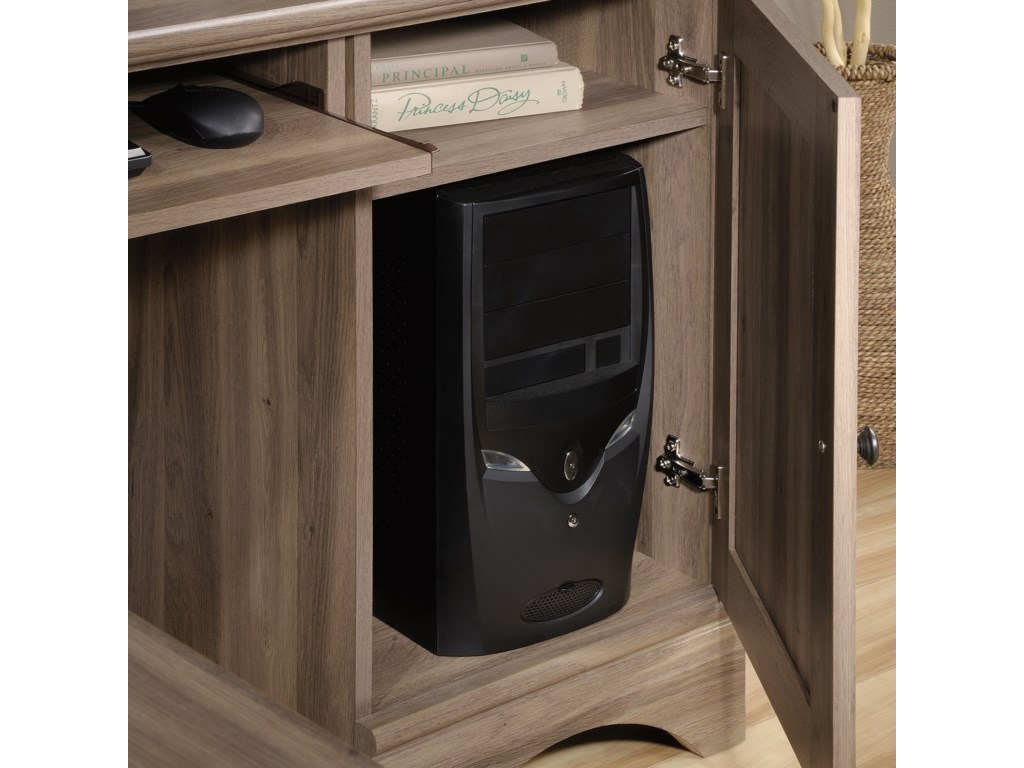 Sauder Harbor ViewCorner Computer Desk