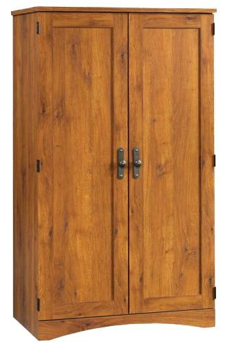 Sauder Harvest Mill 2 Door Computer Armoire | Miskelly Furniture | Armoire