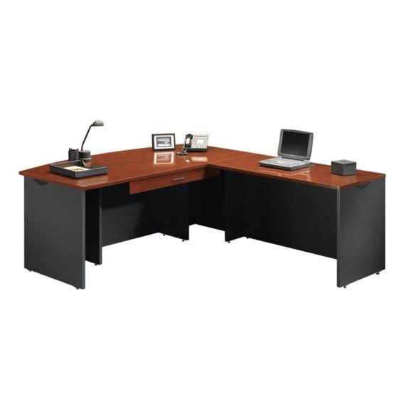 Buy shape home office Shape Corner Home Office Executive Desk With Return And Pencil Drawer By Sauder Delivery Estimates Northeast Factory Direct Cleveland Eastlake Sauder Home Office Executive Desk With Return And Pencil Drawer