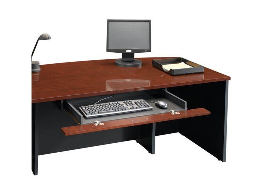 Sauder Home OfficeExecutive Desk with Return and Pencil Drawer