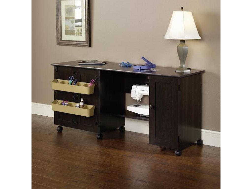 Sauder Home Office 411615 Sewing Craft Cart Becker