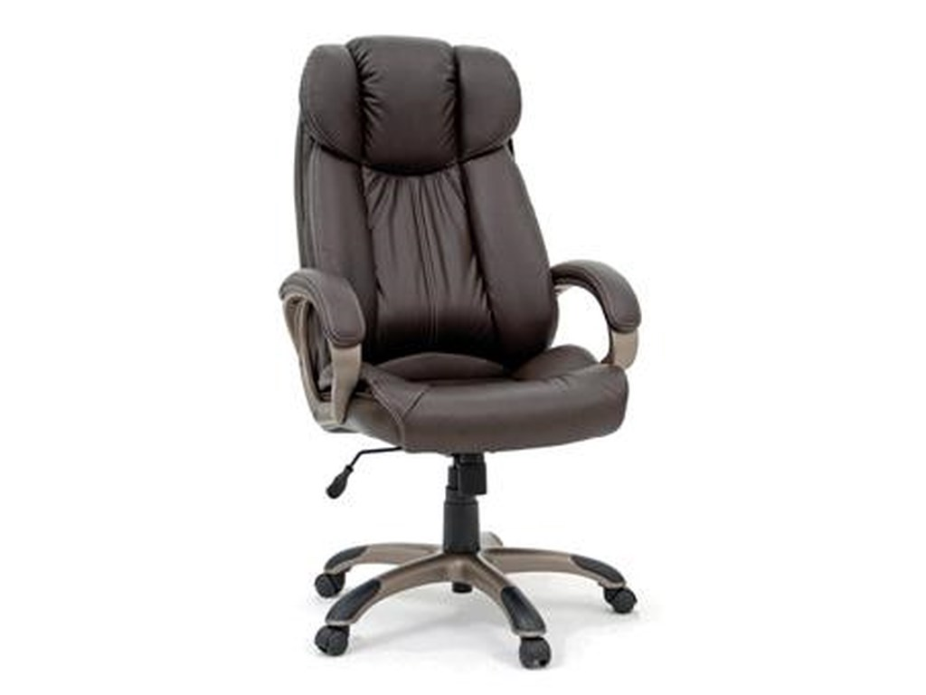 Sauder Office ChairsDeluxe Leather Executive Chair