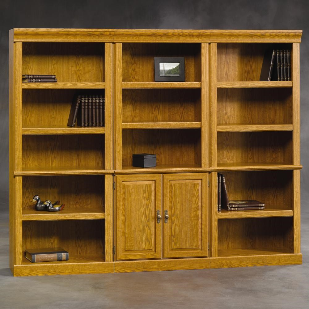 Sauder Orchard Hills 2x402712 402173 3 Pc Wall Of Bookcases