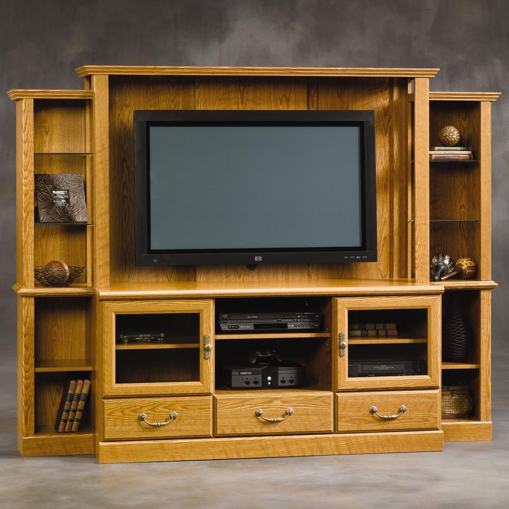 Sauder Orchard Hills 402743 Entertainment System Corner Furniture