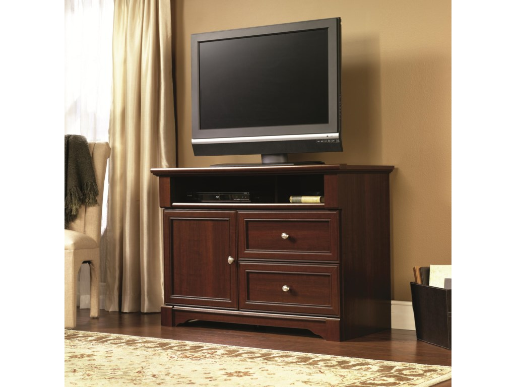 Sauder Palladia 411626 Highboy Television Stand W 2 Drawers