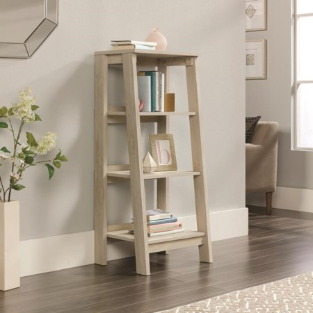 Angled 3 Shelf Bookcase