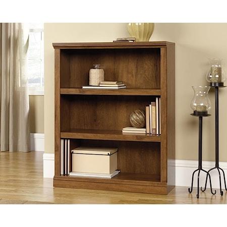 3-Shelf Bookcase (Oiled Oak)