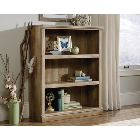 3-Shelf Bookcase (Lintel Oak)