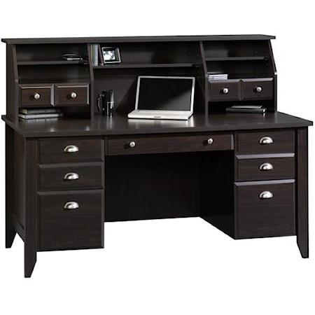 Executive Desk and Hutch