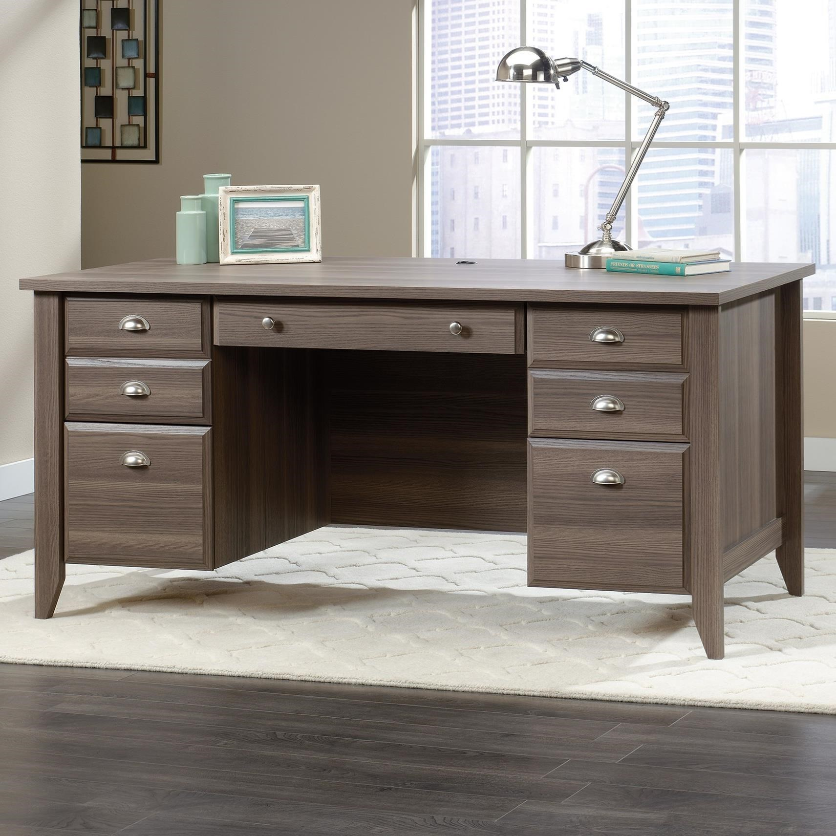 Sauder Shoal CreekExecutive Office Desk ...