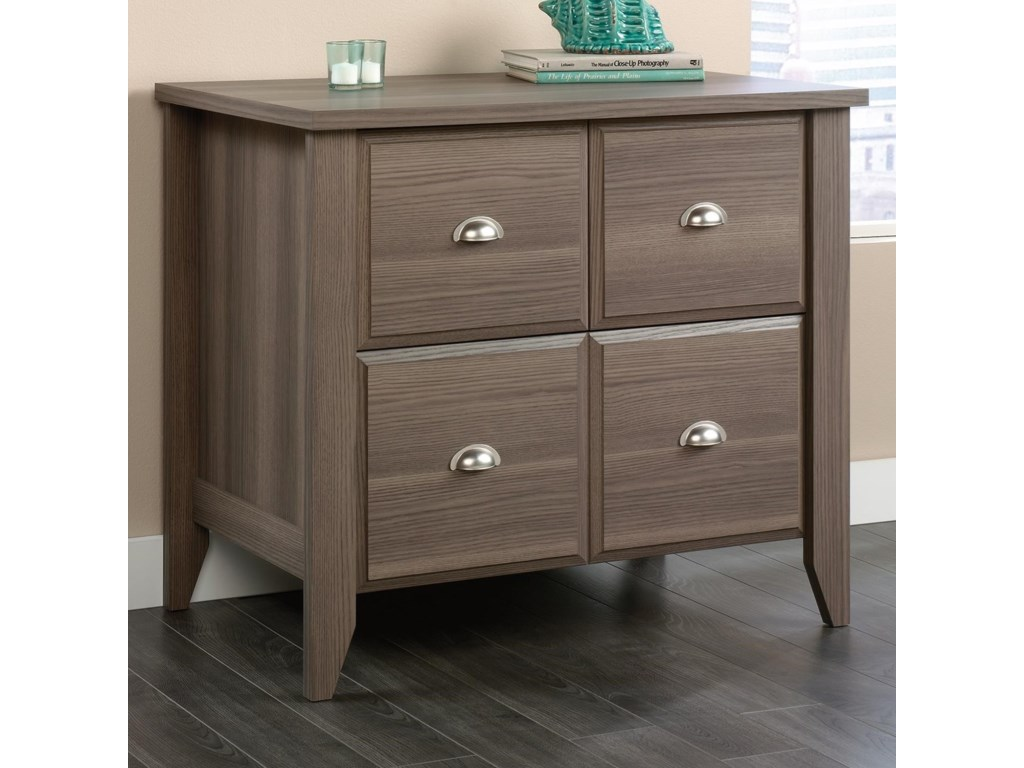 Sauder Shoal Creek 418658 Lateral File Cabinet With Doors Becker