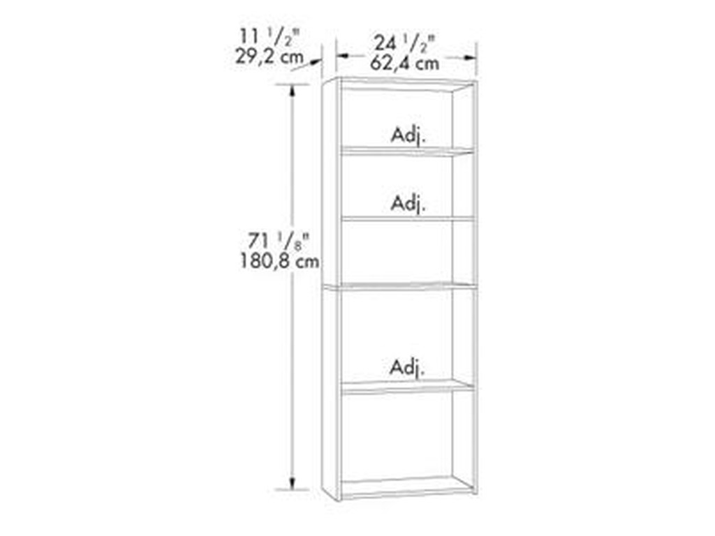 Sauder Bookcases5-Shelf Bookcase