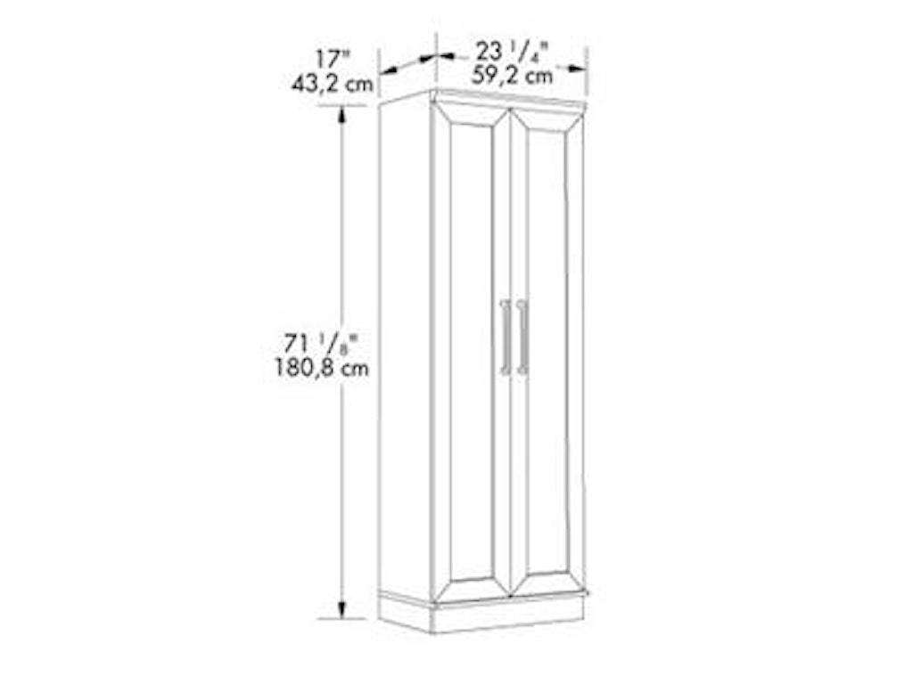 Sauder HomePlusStorage Cabinet