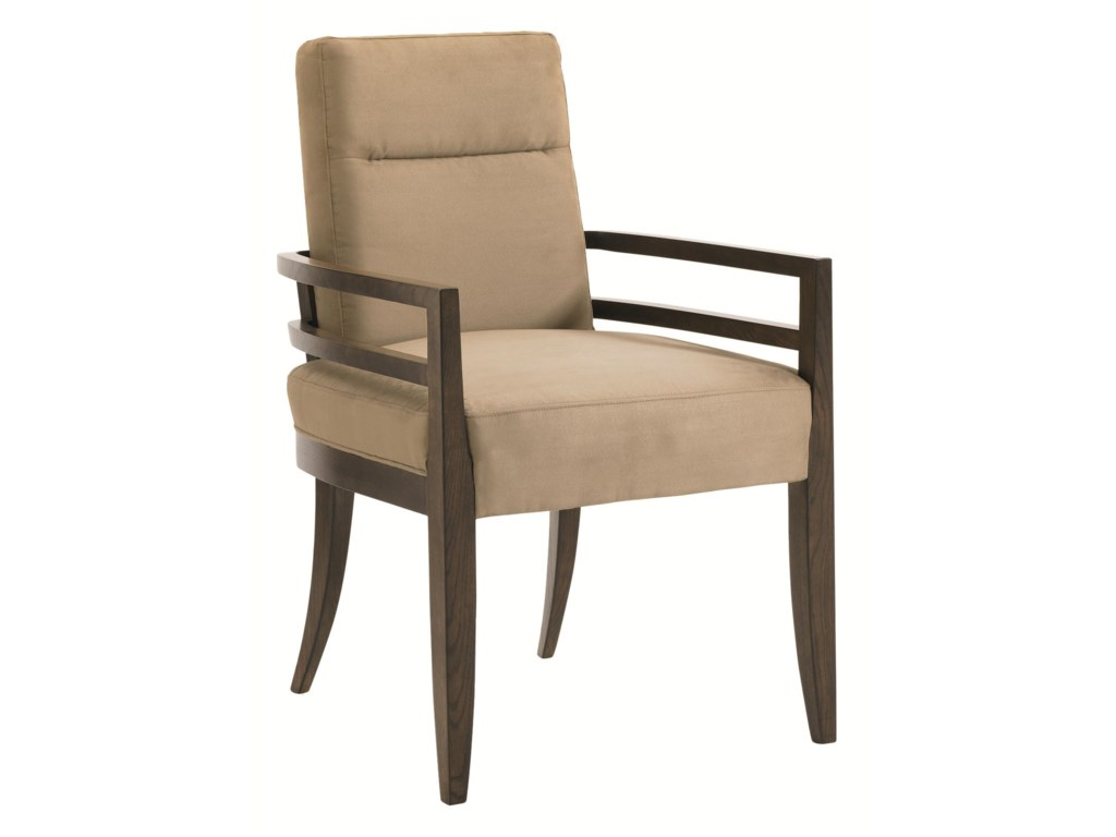 Schnadig Modern ArtisanCraftsmen Dining Arm Chair