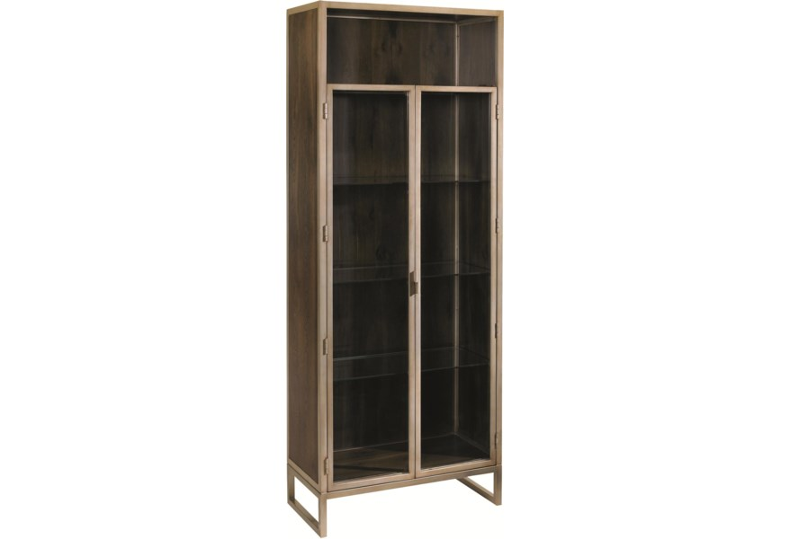 Schnadig Modern Artisan Vision Airy Display Cabinet ...