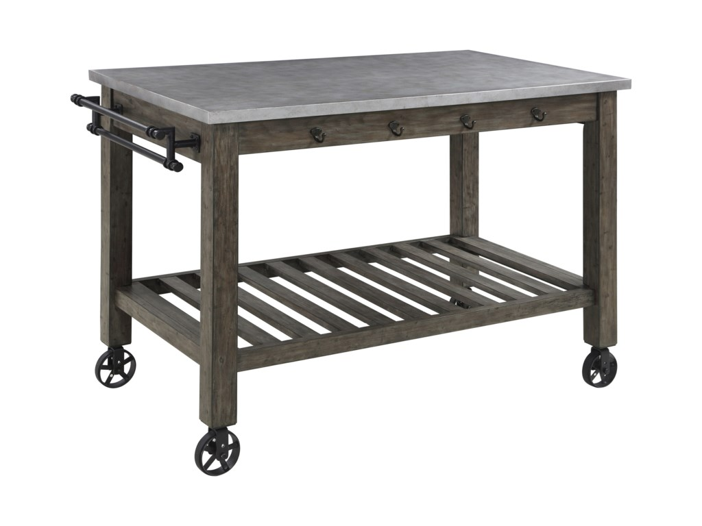 Scott Living 100527Kitchen Island