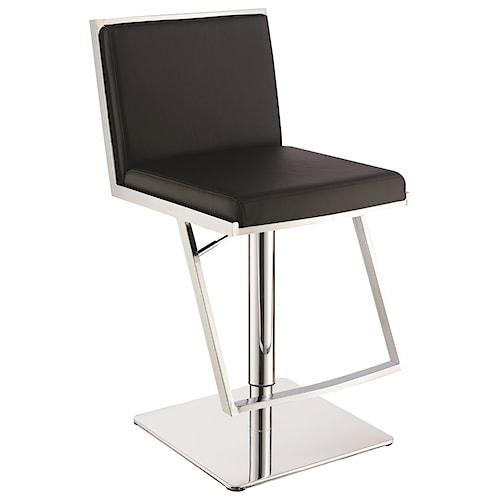 Scott Living 10307 Contemporary Upholstered Bar Stool