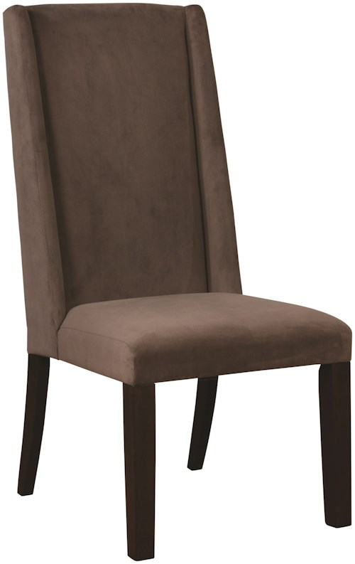 Scott Living 10312 Demi-Wing Parson Chair