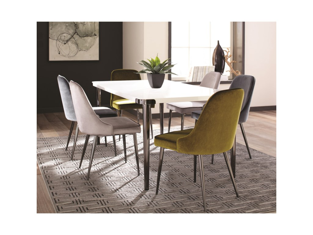 Scott Living InsleeSet of Four Dining Side Chairs