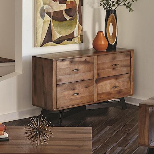 Scott Living 70549 Two-Tone Rustic Sofa Table