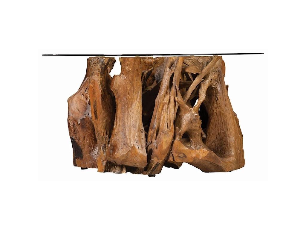 Fine Furniture 721668Rustic Teak Root Coffee Table