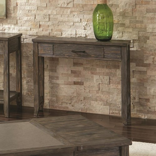 Scott Living 72241 Transitional Console Table with 1 Drawer