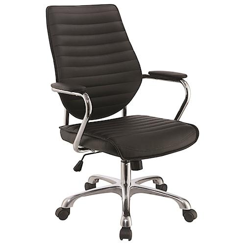 Scott Living 80132 Contemporary High Back Office Chair