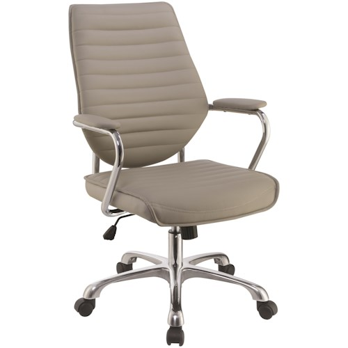 Coaster 80132 Contemporary High Back Office Chair