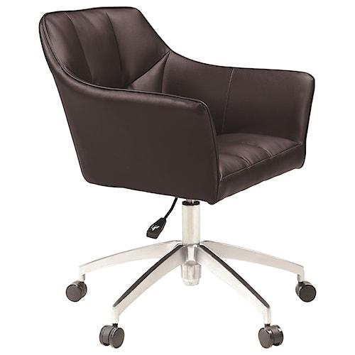 Scott Living 80153 Modern Upholstered Office Chair