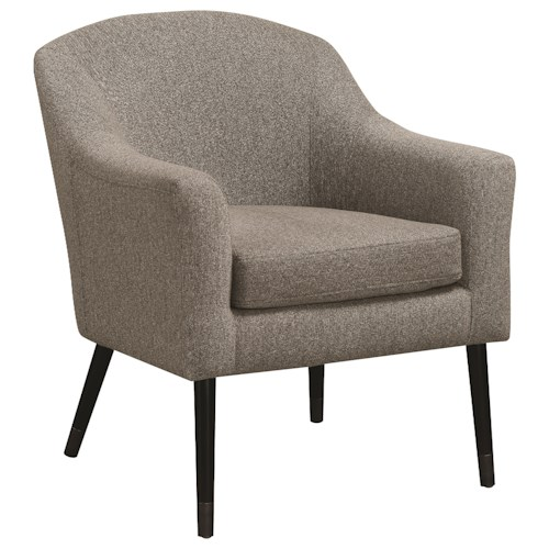 Scott Living 90337 Mid-Century Modern Accent Chair