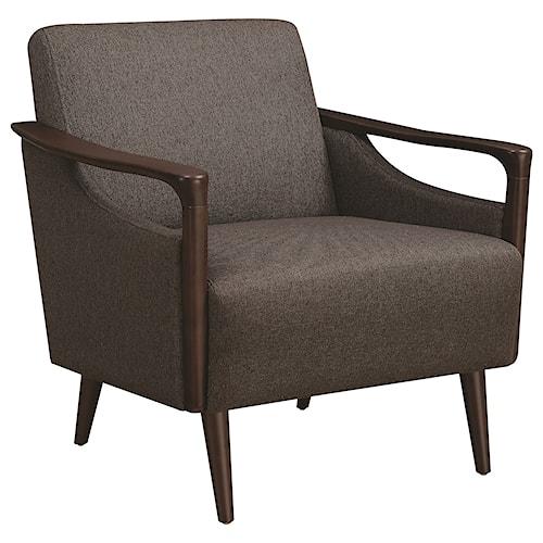 Scott Living 90404 Mid-Century Modern Accent Chair