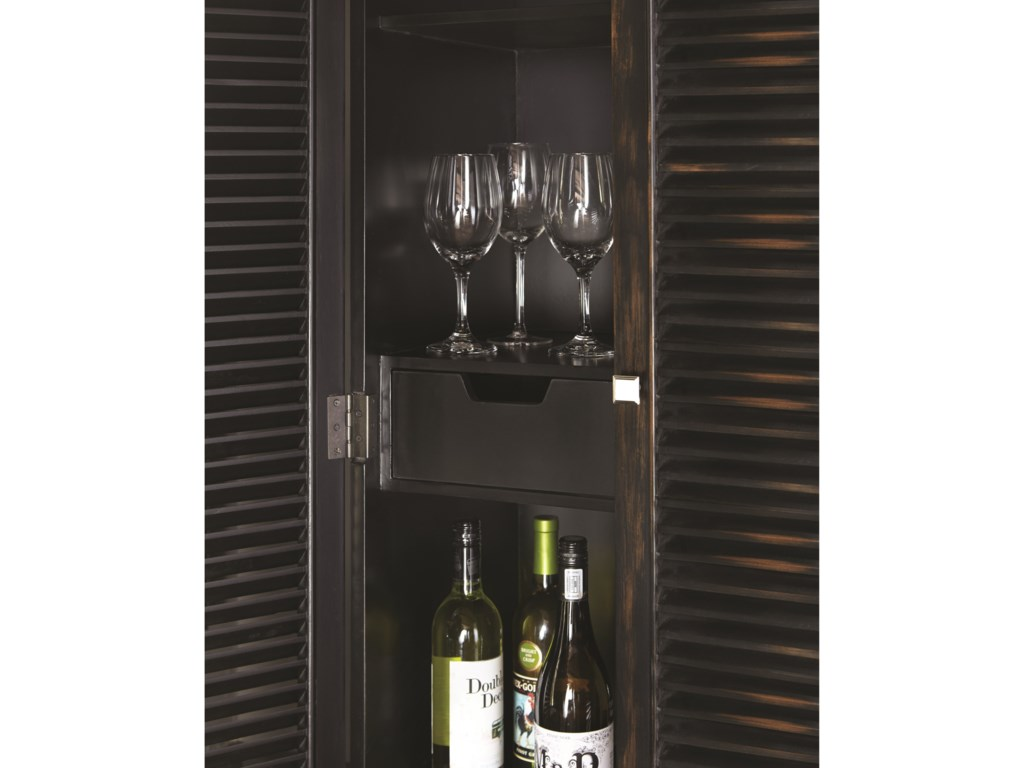Scott Living 950732Wine Cabinet