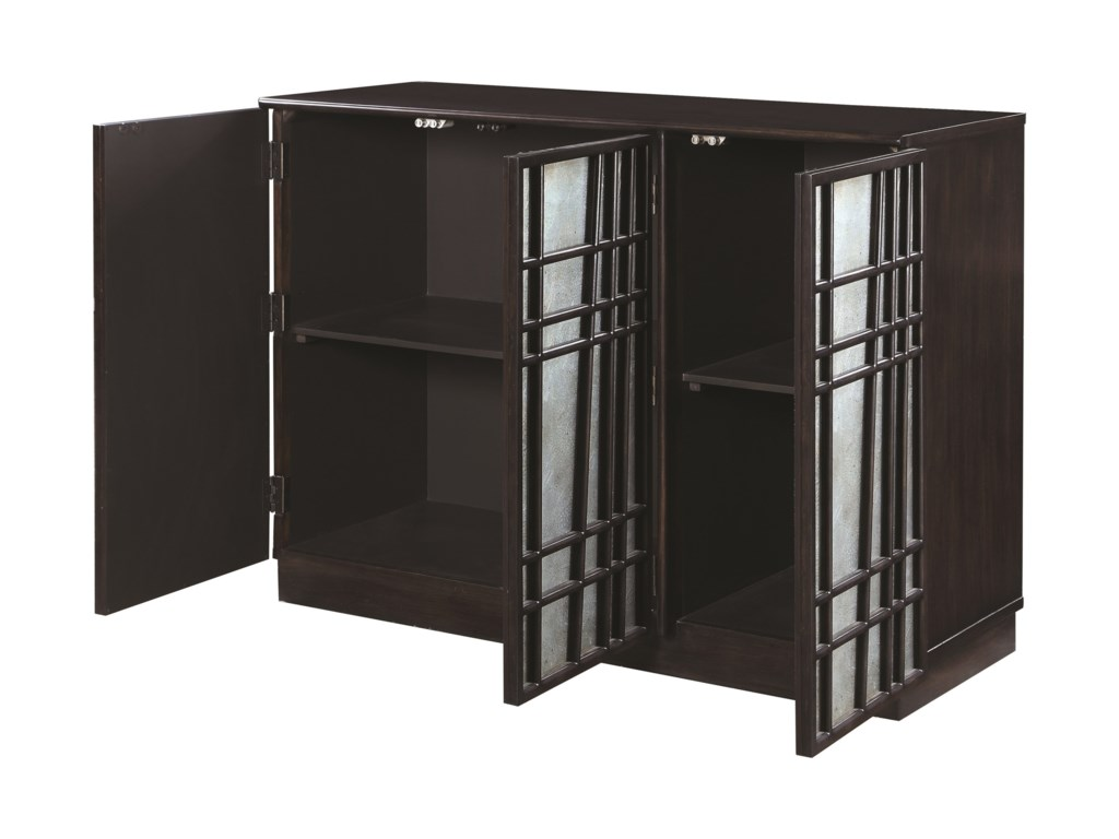 Scott Living 950733Accent Cabinet