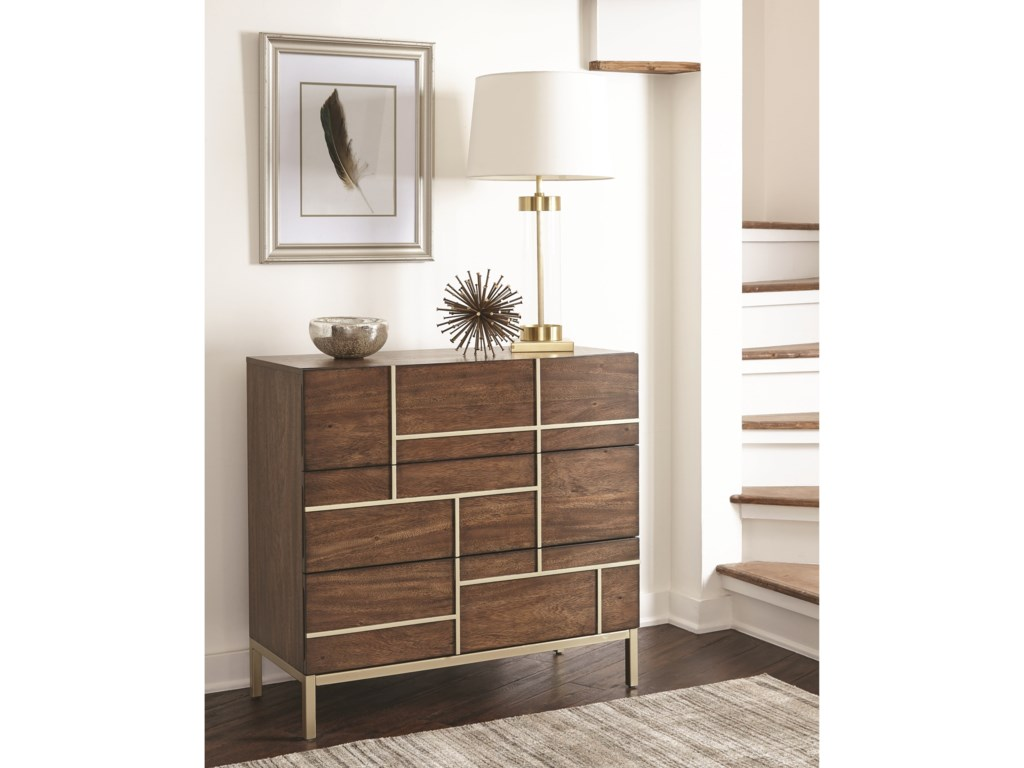 Scott Living 950758Accent Cabinet