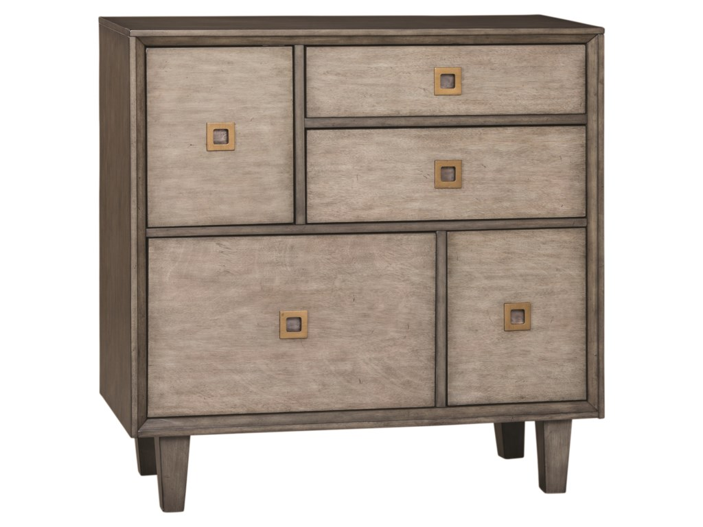 Scott Living 950759Accent Cabinet