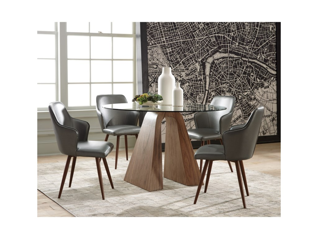 Scott Living AbbottTable and Chair Set