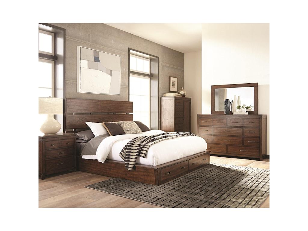 Scott Living ArtesiaCal King Storage Bed
