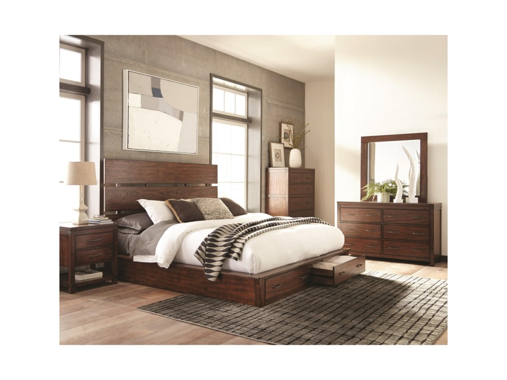 Scott Living ArtesiaCal King Storage Bed