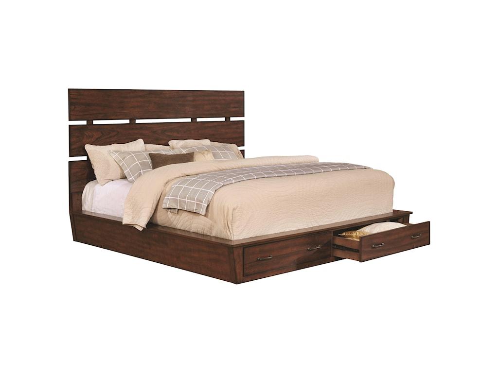 Scott Living ArtesiaQueen Storage Bed