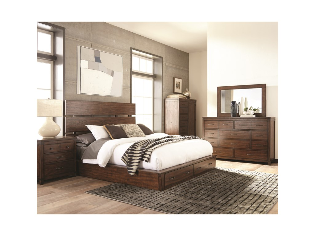 Scott Living ArtesiaKing Storage Bedroom Group 2