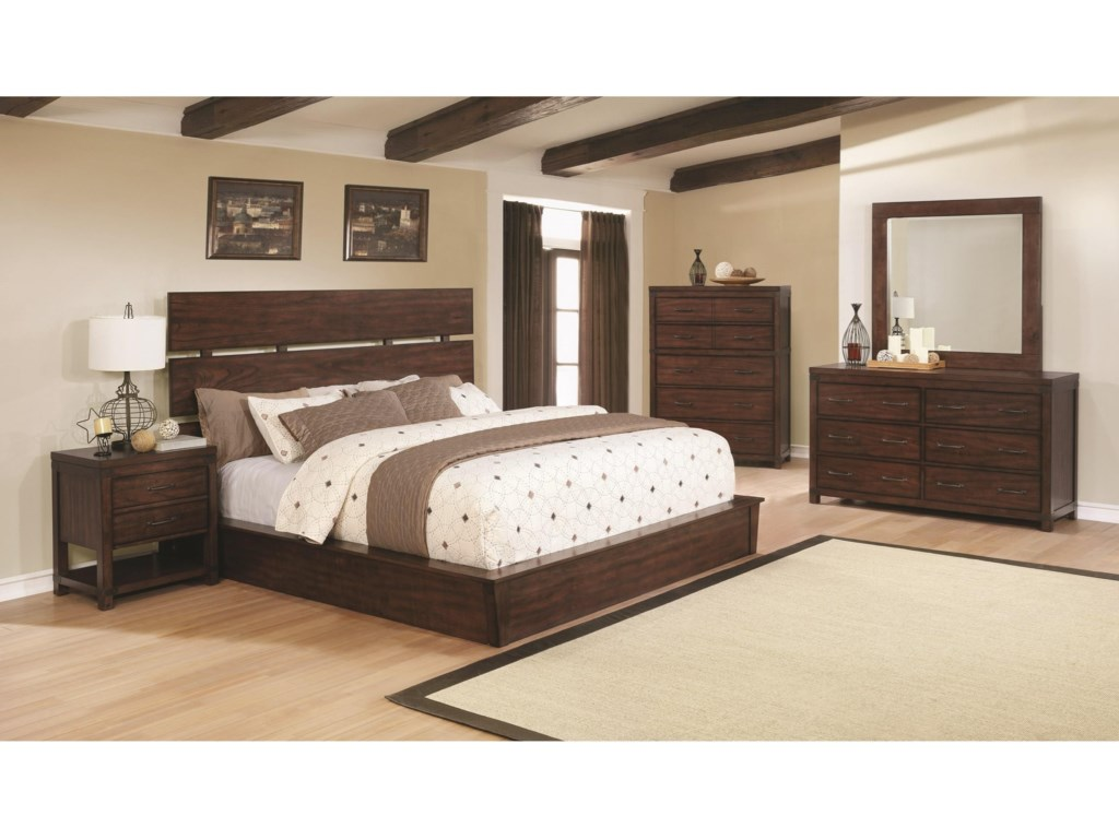 Scott Living ArtesiaCal King Bed