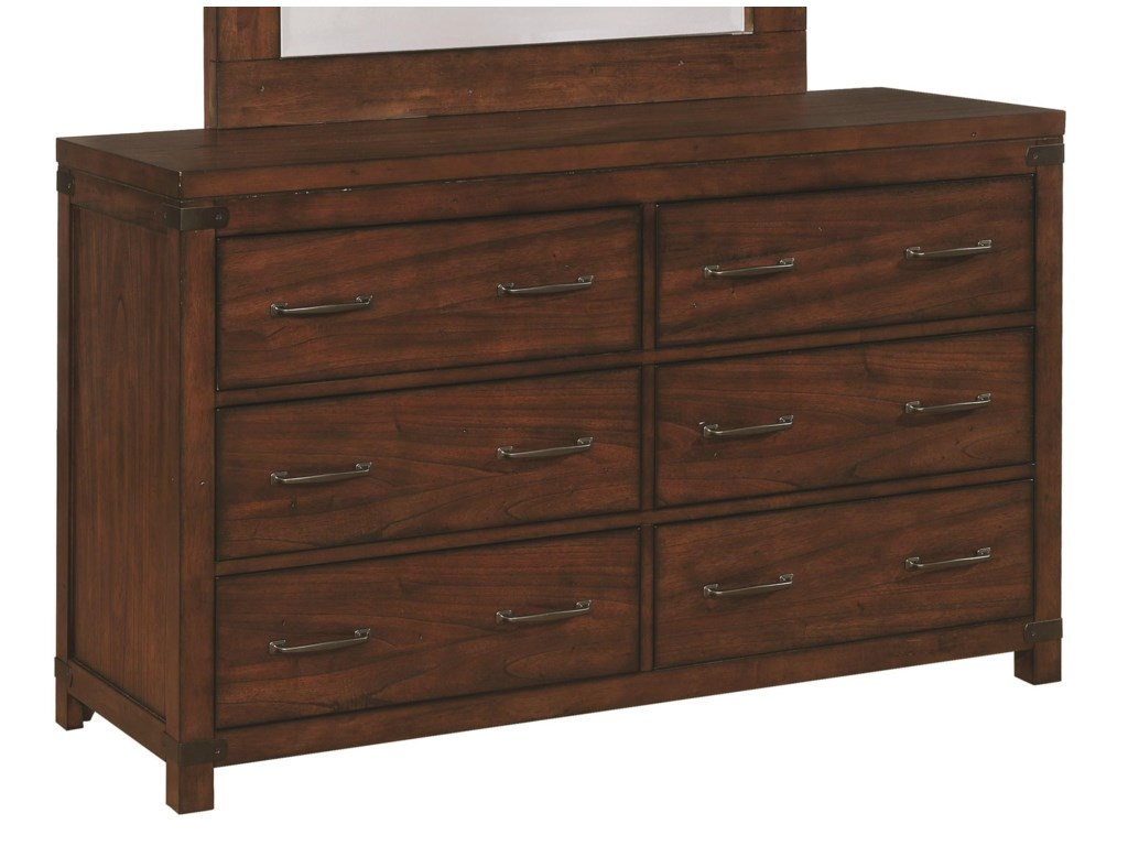 Scott Living Artesia6 Drawer Dresser